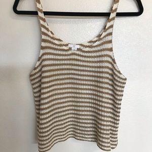 BP knit stripped tank top
